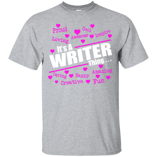 It's A Writer thing
