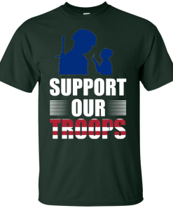 Support Our Troops Shirt for KIDS