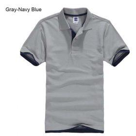 grey Navy blue