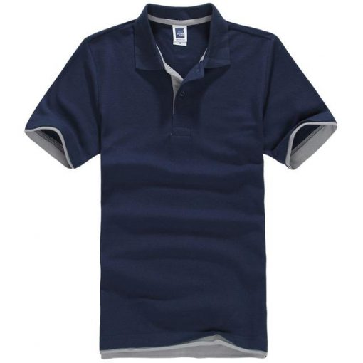Men's Blue polo