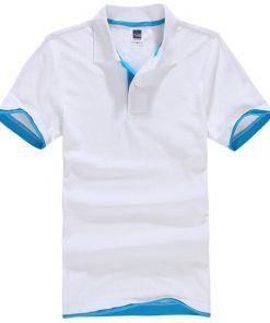 White men polo