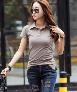 Coffee Color polo shirt