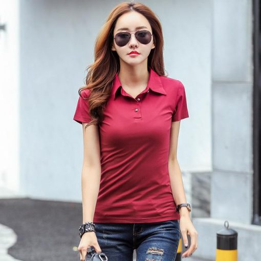Red Polo for girls