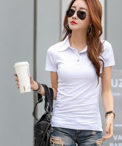 Girls white polo