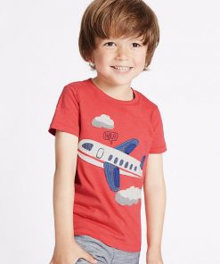 CoolShirts Little Pilot Children Boy / Girl Tees