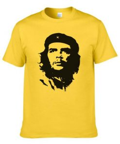 Round Neck Che Guevara Cotton T-Shirt for Men