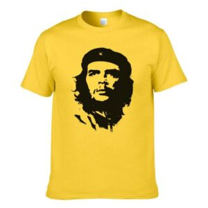 Round Neck Che Guevara Cotton T-Shirt for Men