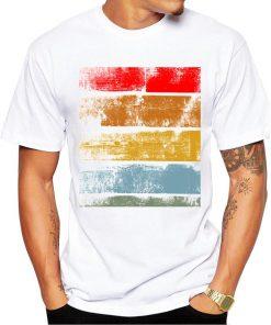 CoolShirts Retro Fashion Printed T-Shirt for Men