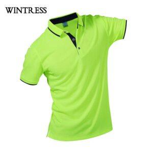 Cool neon polo shirt
