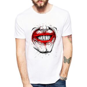 laughter t-shirt Cool Design White T-Shirt Top Fashion Quality