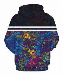 Happy Peony Pullover Unisex Hoodie / Sweatshirt