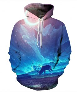Aurora Design Pullover Unisex Hoodie / Sweatshirt by Cool Shirts