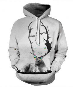 Deer Lover Design Unisex Hoodie / Sweatshirt