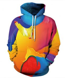 Colorful Dyed Pullover Unisex Hoodie / Sweatshirt