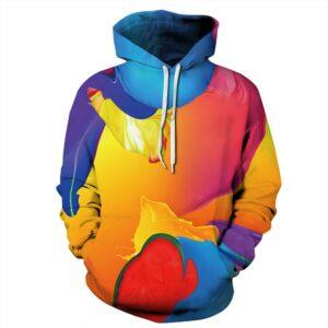 Colorful Dyed Pullover Unisex Hoodie / Sweatshirt