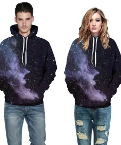 Colorful Realistic Cloud Design Unisex Hoodie / Sweatshirt