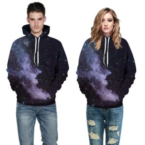Colorful Realistic Cloud Design Unisex Hoodie / Sweatshirt