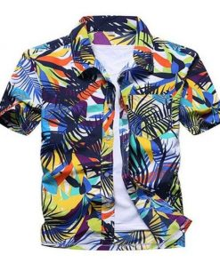 Cool Hawaiian Shirts Floral Print