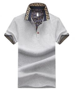 Grey trendy Polo