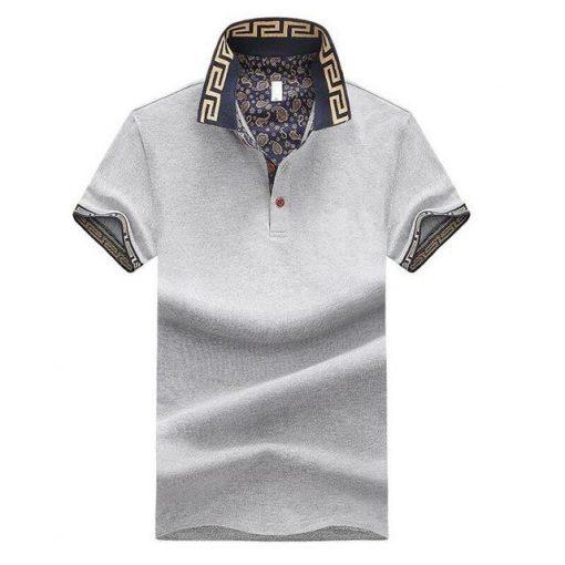 Grey trendy Polo