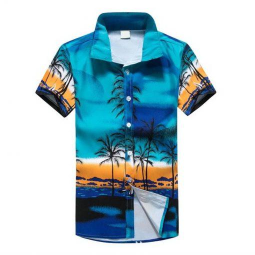 Hawaiian Short Sleeve Shirts for Men