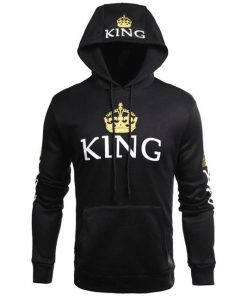 Black King Design Hoodie Sweatshirt