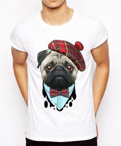 Pug Round Neck Cotton T-Shirt