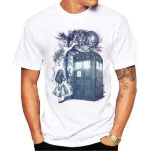 Colorful Wonderland Printed T-Shirt for Men